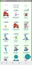 Load image into Gallery viewer, Legendary Account - 38 level - 1196 Pokemon - Team Valor #320