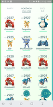 Load image into Gallery viewer, Legendary Account - 40 level - 1740 Pokemon - Team Mystic #324