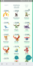 Load image into Gallery viewer, Legendary Account - 37 level - Team Mystic #328