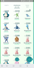 Load image into Gallery viewer, Legendary Account - 33 level - Team Mystic #329