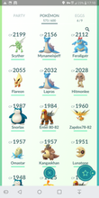 Load image into Gallery viewer, Legendary Account - 33 level - Team Mystic #341