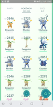 Load image into Gallery viewer, Legendary Account - 32 level - Team Mystic #345