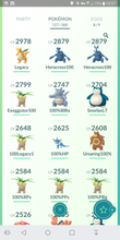Load image into Gallery viewer, Legendary Account - 31 level - Team Mystic #352