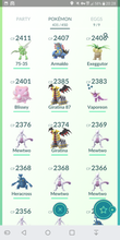 Load image into Gallery viewer, Legendary Account - 38 level - 431 Pokemon - Team Valor #354