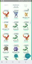 Load image into Gallery viewer, Legendary Account - 39 level - 860 Pokemon - Team Mystic #358