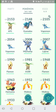 Load image into Gallery viewer, Legendary Account - 33 level - Team Mystic #373