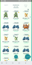 Load image into Gallery viewer, Legendary Account - 39 level - 860 Pokemon - Team Mystic #380
