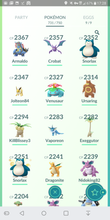 Load image into Gallery viewer, Legendary Account - 38 level - 731 Pokemon - Team Valor #383