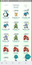 Load image into Gallery viewer, Legendary Account - 36 level - 568 Pokemon - Team Valor #392
