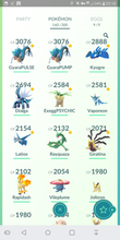Load image into Gallery viewer, Legendary Account - 33 level - Team Mystic #405