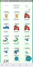 Load image into Gallery viewer, Legendary Account - 32 level - Team Mystic #410