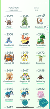 Load image into Gallery viewer, Legendary Account - 40 level - 1080 Pokemon - Team Mystic #788