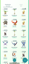 Load image into Gallery viewer, Legendary Account - 39 level - 330 Pokemon - Team Mystic #792