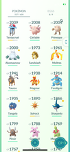 Load image into Gallery viewer, Legendary Account - 32 level - 537 Pokemon - Team Mystic #744
