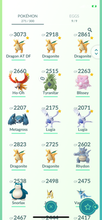 Load image into Gallery viewer, Legendary Account - 31 level - 271 Pokemon - Team Mystic #754