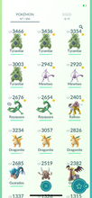 Load image into Gallery viewer, Legendary Account - 30 level - 87 Pokemon - Team Mystic #770