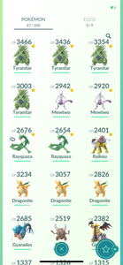 Legendary Account - 30 level - 87 Pokemon - Team Mystic #770
