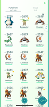 Load image into Gallery viewer, Legendary Account - 34 level - 447 Pokemon - Team Valor #774