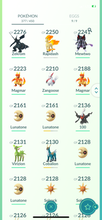 Load image into Gallery viewer, Legendary Account - 34 level - 377 Pokemon - Team Mystic #777