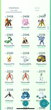 Load image into Gallery viewer, Legendary Account - 34 level - 552 Pokemon - Team Mystic  #781