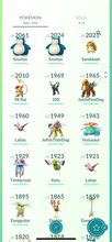 Load image into Gallery viewer, Legendary Account - 35 level - 445 Pokemon - Team Mystic #842
