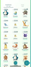 Load image into Gallery viewer, Legendary Account - 34 level - 397 Pokemon - Team Mystic #847