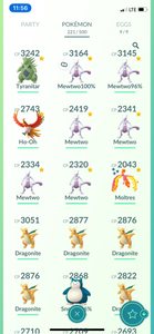 Legendary Account - 33 level - Team Valor #482