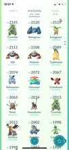 Load image into Gallery viewer, Legendary Account - 33 level - Team Mystic #498