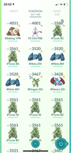 Load image into Gallery viewer, Legendary Account - 39 level - 850 Pokemon - Team Mystic #505
