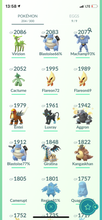 Load image into Gallery viewer, Legendary Account - 35 level - 204 Pokemon - Team Mystic #722