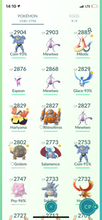 Load image into Gallery viewer, Legendary Account - 38 level - 1503 Pokemon - Team Mystic #723