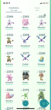 Load image into Gallery viewer, Legendary Account - 34 level - 401 Pokemon - Team Mystic #725