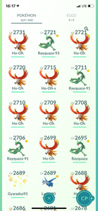 Legendary Account - 36 level - 369 Pokemon - Team Valor #729