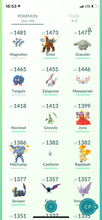 Load image into Gallery viewer, Legendary Account - 31 level - 252 Pokemon - Team Mystic #735