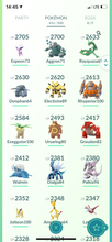 Load image into Gallery viewer, Legendary Account - 34 level - Team Mystic #516