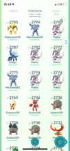 Load image into Gallery viewer, Legendary Account - 39 level - 1450 Pokemon - Team Valor #517