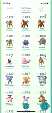 Load image into Gallery viewer, Legendary Account - 32 level - Team Mystic #522