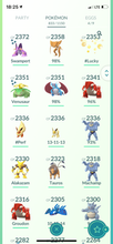 Load image into Gallery viewer, Legendary Account - 40 level - 830 Pokemon - Team Valor #525