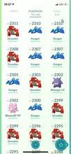 Load image into Gallery viewer, Legendary Account - 38 level - 793 Pokemon - Team Mystic #528