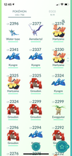 Load image into Gallery viewer, Legendary Account - 34 level - 155 Pokemon - Team Valor #708
