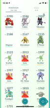 Load image into Gallery viewer, Legendary Account - 34 level - 250 Pokemon - Team Valor #712