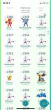 Load image into Gallery viewer, Legendary Account - 40 level - 2090 Pokemon - Team Mystic #539