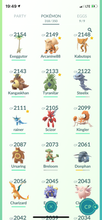 Load image into Gallery viewer, Legendary Account - 36 level - 319 Pokemon - Team Mystic #544