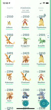 Load image into Gallery viewer, Legendary Account - 34 level - 231 Pokemon - Team Valor #551