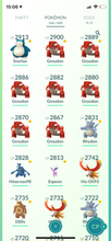 Load image into Gallery viewer, Legendary Account - 35 level  - 349 Pokemon - Team Valor #679