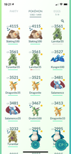 Load image into Gallery viewer, Legendary Account - 40 Level - Team Valor - 1380 Pokemon #578