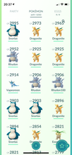 Load image into Gallery viewer, Legendary Account - 35 level - Team Mystic #462