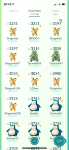 Legendary Account - 36 level - Team Mystic #463