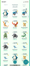 Load image into Gallery viewer, Legendary Account - 40 level - 1980 Pokemon - Team Mystic #508