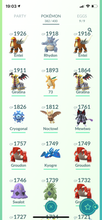 Load image into Gallery viewer, Legendary Account - 33 level  - 382 Pokemon - Team Valor #693